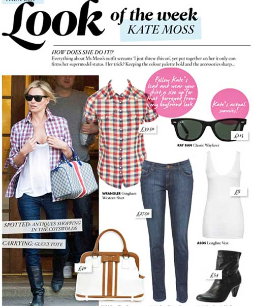 ASOS Look of the Week Kate Moss
