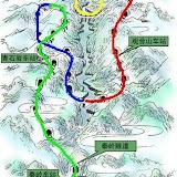宝成铁路穿山越岭