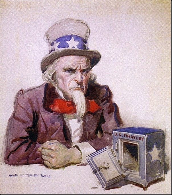James_Montgomery_Flagg_Uncle_Sam_with_empty_treasury