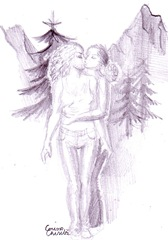 Un vis frumos de iubire - Eu cu o fata la munte