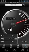 Screenshot of DriveMate Fuel Lite