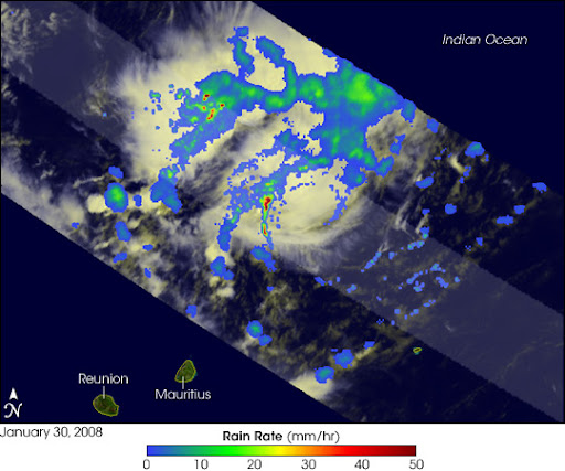Cyclone Gula Image. Caption explains image.