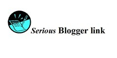 Serious blogger badge