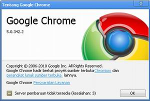Download Google Chrome 5 Beta Offline Installer