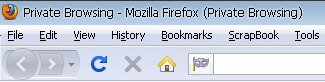 Start Private Browsing on Firefox 3.5.x or Firefox 3.6.x