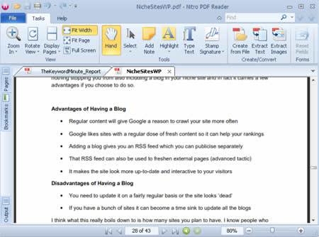 Free PDF Reader, Editor, and Creator