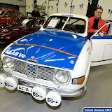 Saab 96 1974, 1815cc, 157 hp ex. Simo Lampinen (in picture). This car was in use in the start of the Finnish Championship season 1975.