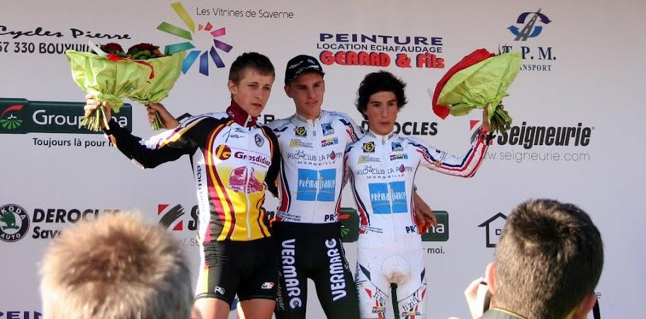 Quentin Jauregui, 1er leader du challenge national junior