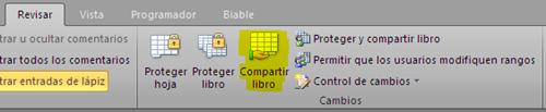 Permitir que varios usuarios modifiquen un libro de Excel al mismo tiempo_imagen1