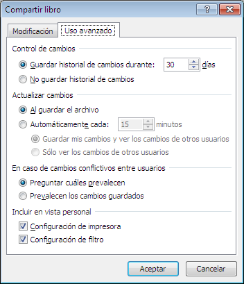 Permitir que varios usuarios modifiquen un libro de Excel al mismo tiempo_imagen3