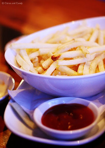 starter - shoestring fries