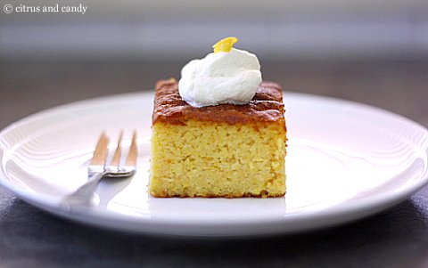 Flourless Orange Cake - Citrus and Candy