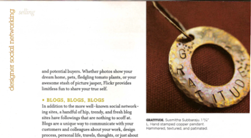 Jewelry Artist Mag Feature pic 3