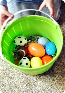 Miles Easter Egg Hunt Basket