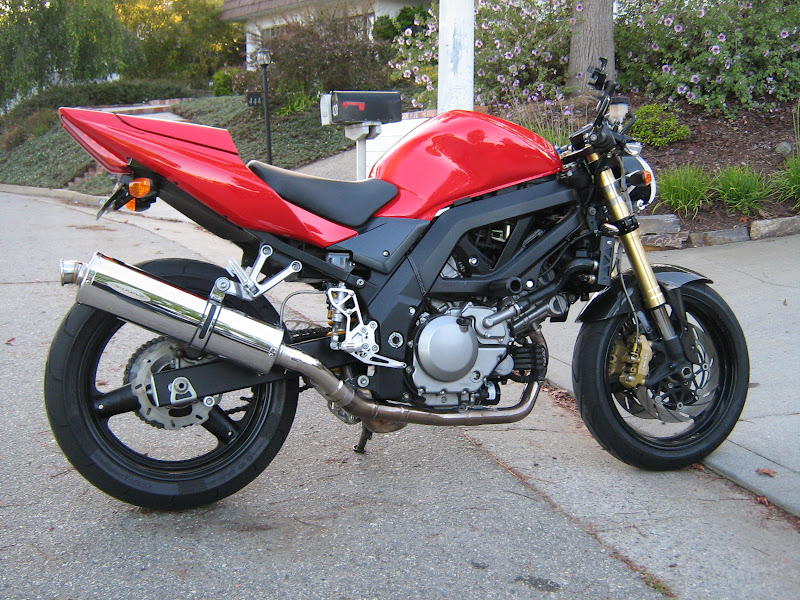 Im almost finished, went naked. - Page 3 - Suzuki SV650