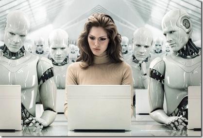 oameni si roboti