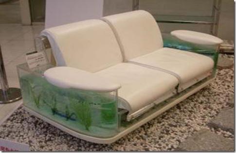 canapea acvariu