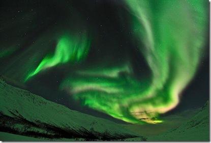 aurora boreala-cercul polar