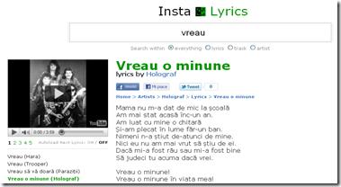 Holograf - Vreau o minune lyrics_1300914173604