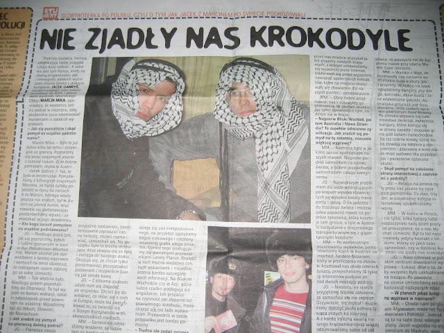 Artykuł w Dzienniku Polskim