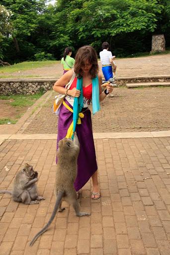 Marta i małpa