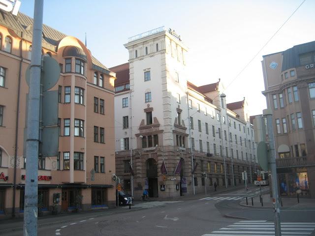 Moja baza w Helsinkach