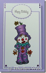 Clown Bugaboo Stamps (3)