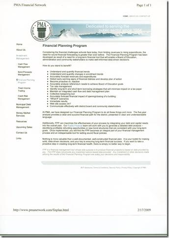 PMA Financial Planning