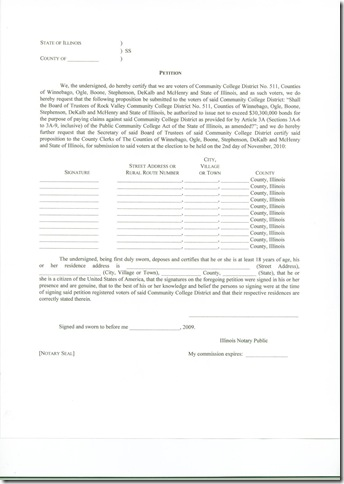 RVC petition