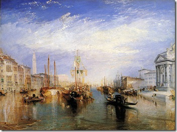 Turner- The Grand Canal, Venice
