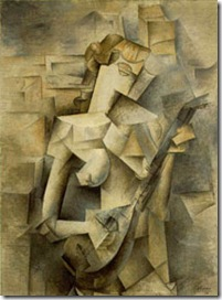 Picasso Girl with Mandolin 1910