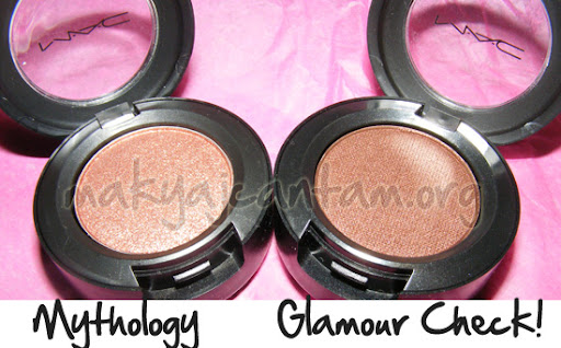 mac farlar mythology glamour check love makeup