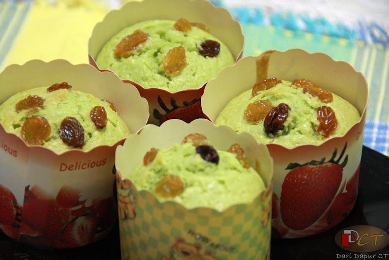 Muffin Pandan Dari Dapur Ct