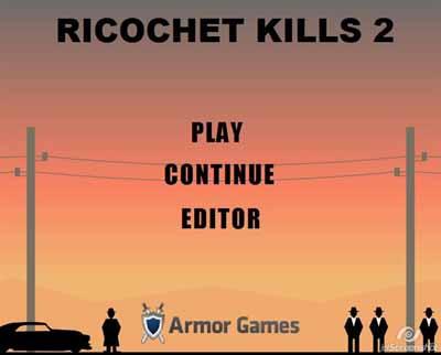 Ricochet Kills 2 (jogo Flash engracado) Rico