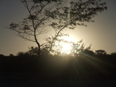 Solnedgang i Tanzania