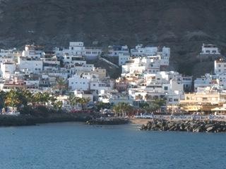 Utsikt mot Puerto de Mogan