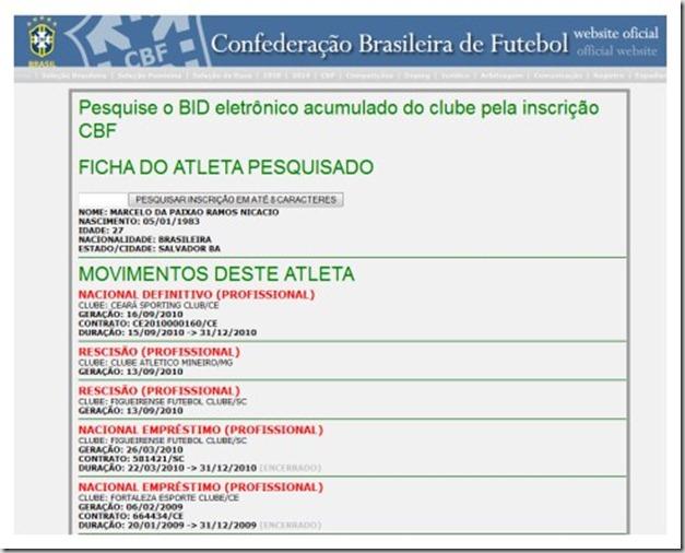 100916 - Marcelo Nicacio - regularizado [##Embaixada do Vozao]