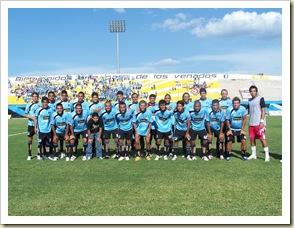 Plantel Venados en el estadio Apertura 2009
