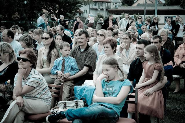 Festyn zorganizowany przez przedszkole w Stawiskach w maju 2009 roku.