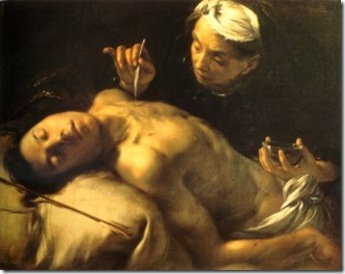 san sebastian curado por irene - francesco del cairo