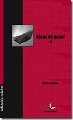 Portada de blogs de papel