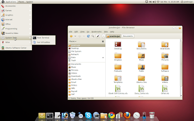 ubuntu light re-imagined theme