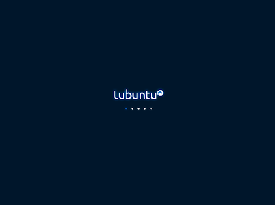 lubuntu 10.04 Lucid Lynx plymouth theme