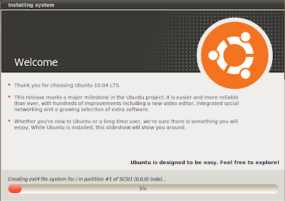 ubuntu 10.04 ubiquity slideshow screenshot