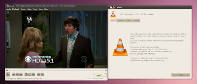 vlc 1.1.0 screenshot