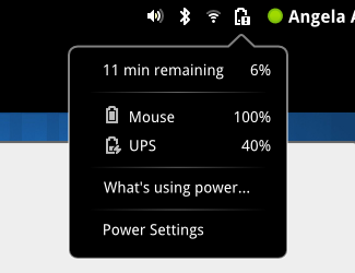power menu gnome 3