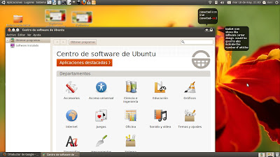windicators mockup ubuntu software center