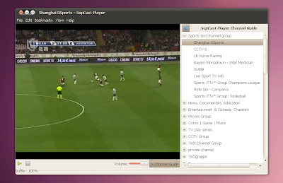 sopcast player ubuntu