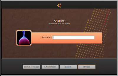 new wave lock dialog theme ubuntu