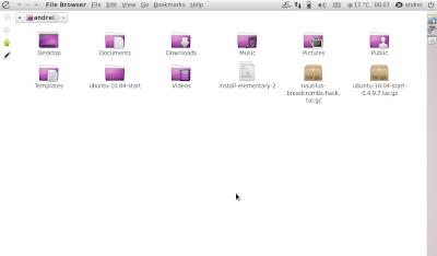 nautilus elementary ubuntu netbook